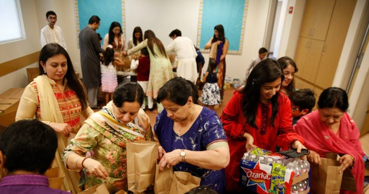 North Texas' Ismaili Muslim community celebrates end of Ramadan with a donation of 6,000 meals