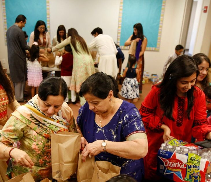 North Texas' Ismaili Muslim community celebrates end of Ramadanwith a donation of 6,000 meals