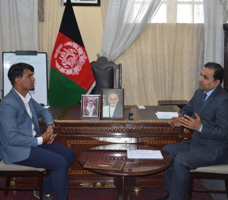 Sayed Anwar: Talented young Afghan-Ismaili student receives recognition from the government