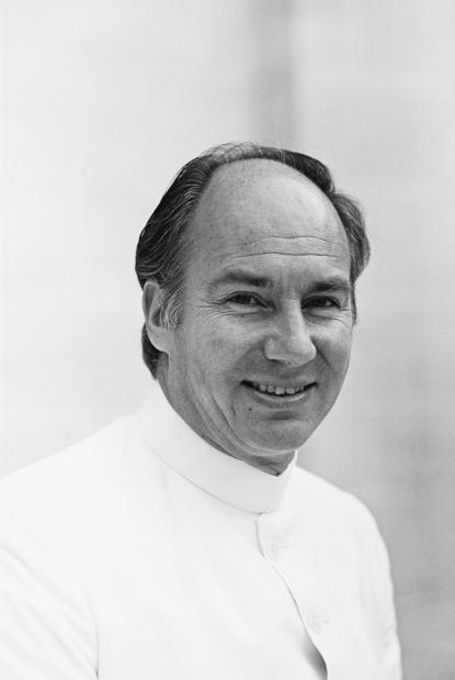Portrait of His Highness the Aga Khan, Imam (spiritual leader) of the Shia Imami Ismaili Muslims and founder and chairman of the Aga Khan Development Network (AKDN), 1982. - Photo credit: AKDN / Christopher Little