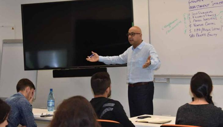 Ali Velshi Lectures Inspire University of Central Asia (UCA) Students and Guests