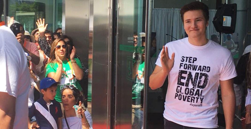 Prince Aly Aga Khan makes surprise appearance at Toronto's World Partnership Walk | Daily Hive Toronto
