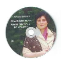 Nasim Bhimji: Ginans with Music - From My Soul To Yours | CD 3