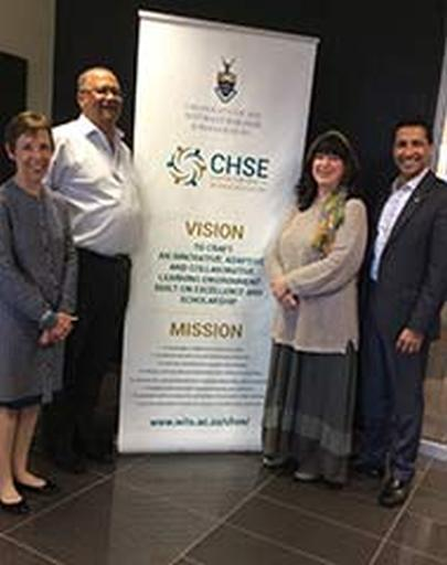 UTEP College of Health Sciences Dean Shafik Dharamsi serves as Scholar in Residence at the University of the Witwatersrand, Johannesburg, South Africa