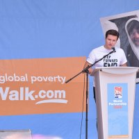 Prince Aly Aga Khan at the Aga Khan Foundation's World Partnership Walk Toronto