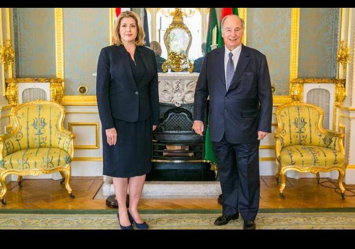 Diamond Jubilee: UK Government welcomes His Highness the Aga Khan