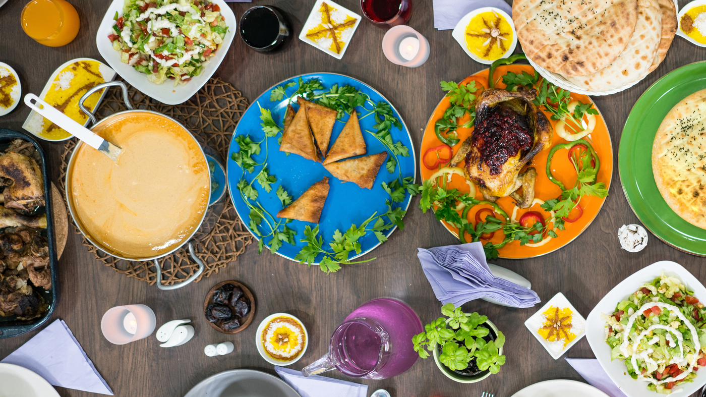 For Ramadan, More Muslims Shape Diets Around Physical And Mental Health | NPR