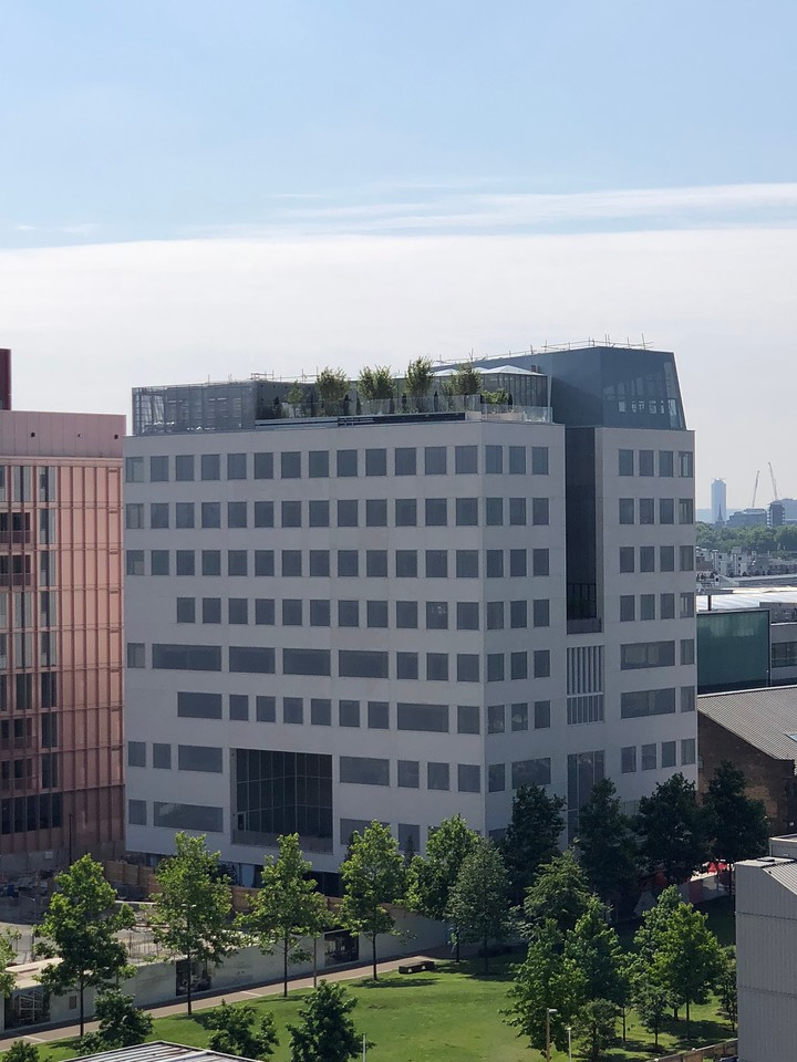 Aga Khan Centre (nearing completion), London