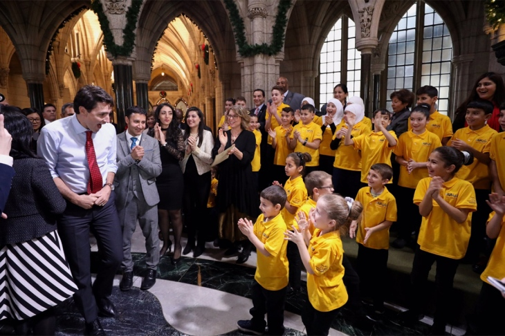 U of T music student to conduct Syrian children's choir that is staying in Canada over border worries