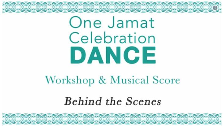 "Watch ""Behind the Scenes - One Jamat Celebration Dance and Musical Score"""
