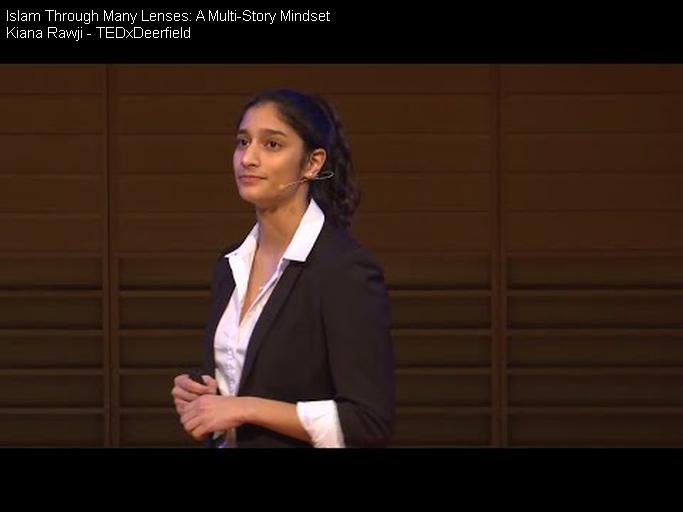 "Kiana Rawji Delivers Second TEDx Talk, ""Islam Through Many Lenses: A Multi-Story Mindset"""