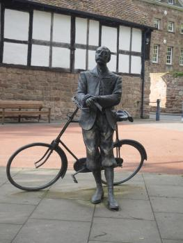 Sir Edward Elgar in Hereford