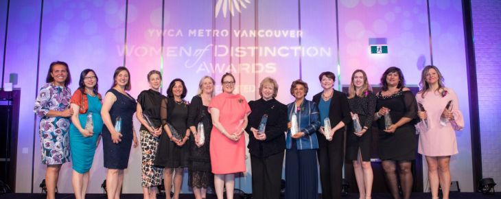 Two Ismailis honored as Women of Distinction (2018)