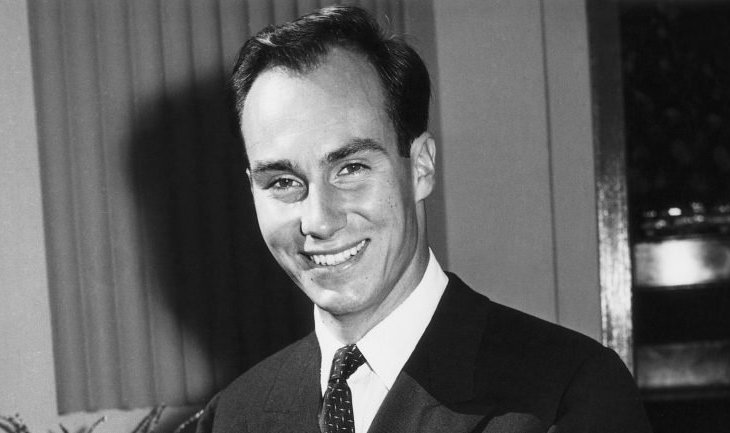 Portrait of the Aga Khan in 1966