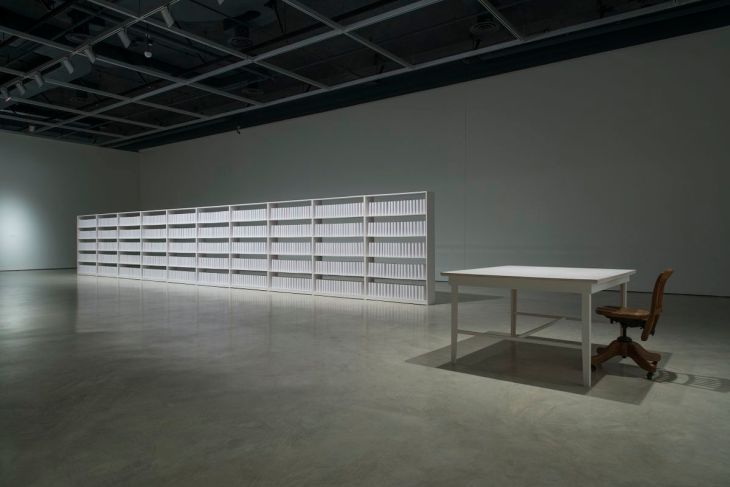 A library rises from the ashes - New Aga Khan Museum installation