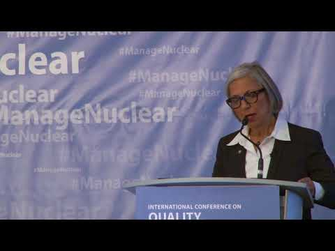 CEO, Canadian Nuclear Safety Commission, Rumina Velshi delivers Keynote International Atomic Energy Agency Address