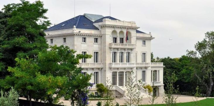 Photo: Taj Kothari - Henrique De Mendonca Palace Lisbon, Seat of the Ismaili Imamat in Portugal