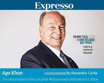 """Expresso Interview (English translation): """"This is a Faith of Reason,"""" explains His Highness Prince Karim Aga Khan"""