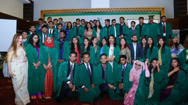 Aga Khan School Bangladesh award and graduation ceremony