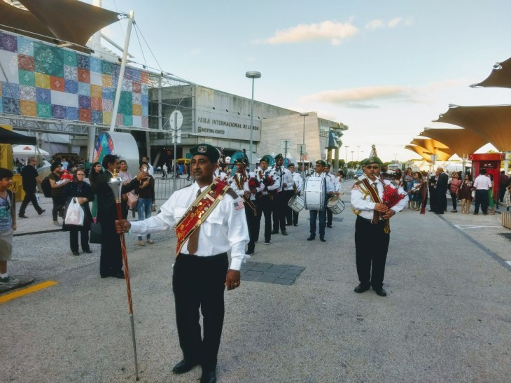 Ismaili Diamond Jubilee Pipe Band in Lisbon