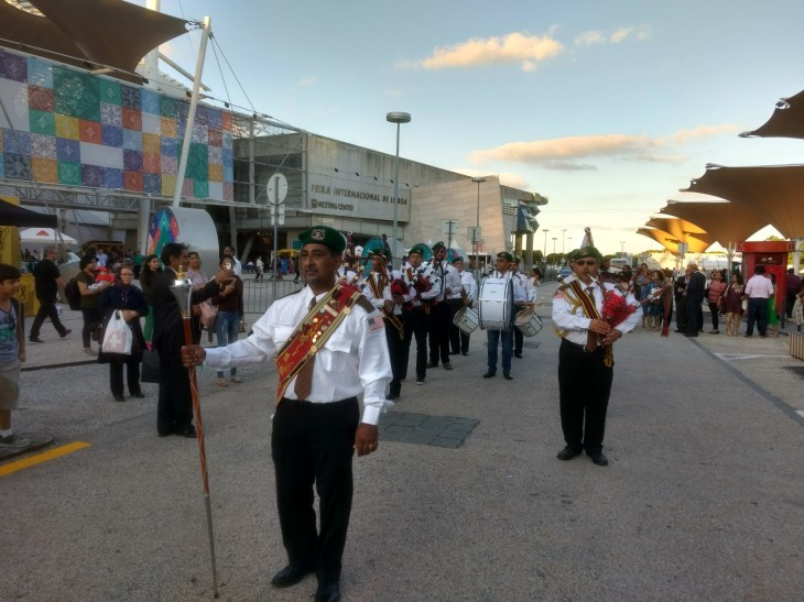 Ismaili Diamond Jubilee Pipe Band in Lisbon