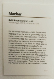 Description of Mazhar, by Sahil Parpia, UAE. Photo: Ismailimail reader in Lisbon