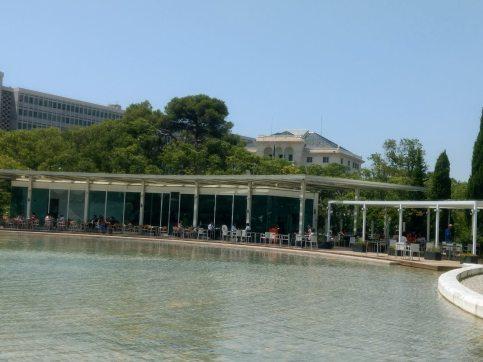 Eduardo VII Park near Henrique Mendonça Palace