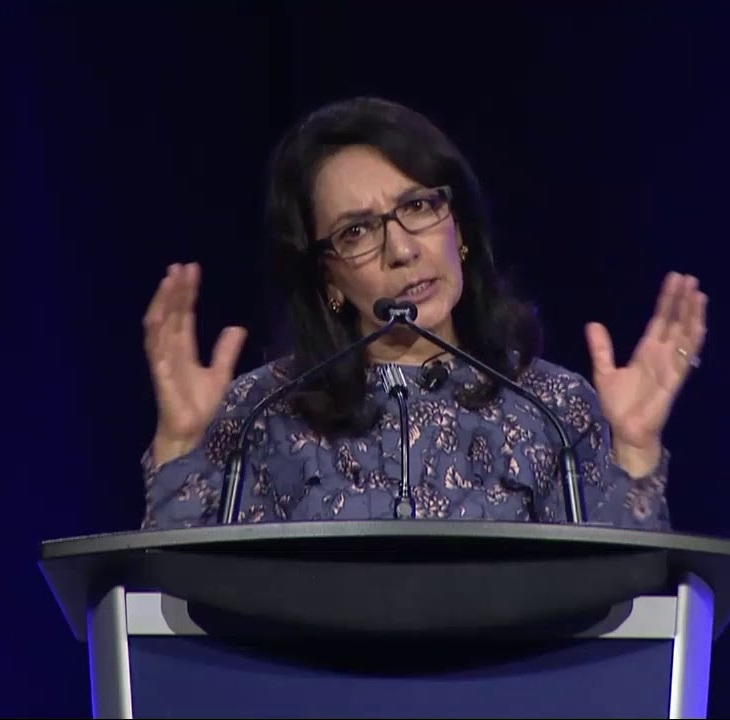 Beyond the Glass Ceiling by Anar Simpson at the 2018 OpenText Women in Technology Summit