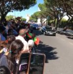 Mawlana Hazar Imam's Motorcade in Lisbon (video)