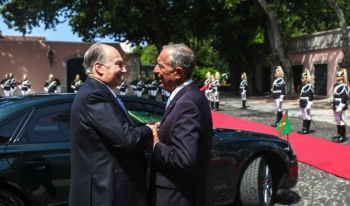 Portuguese Heads of State and Governmentoffer His Highness the Aga Khan a State Welcome
