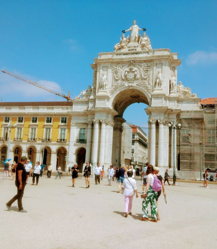 Walking in Lisbon: Tagus River - Rio Tejo