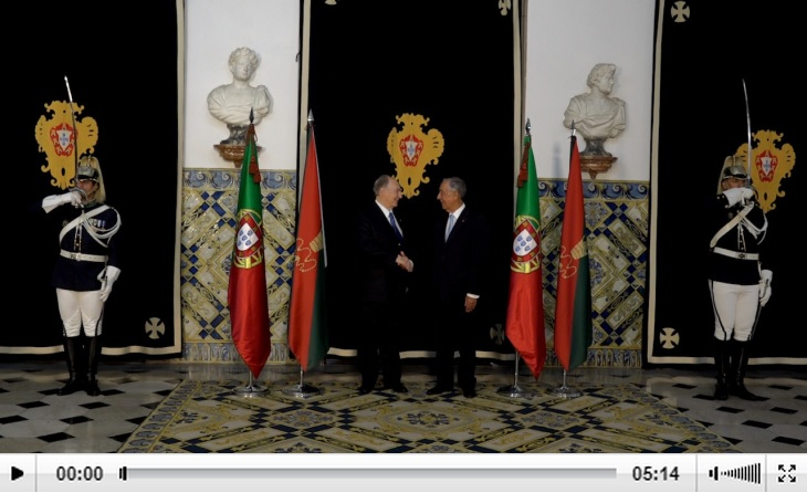 Presidencia.PT Video: Remarks by President Marcelo Rebelo de Sousa honouring His Highness Prince Karim Aga Khan at the National Palace of Queluz
