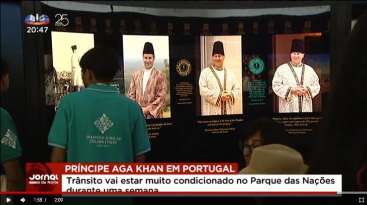 Portuguese Media Video Report: Prince Aga Khan brings 45,000 faithful to Portugal