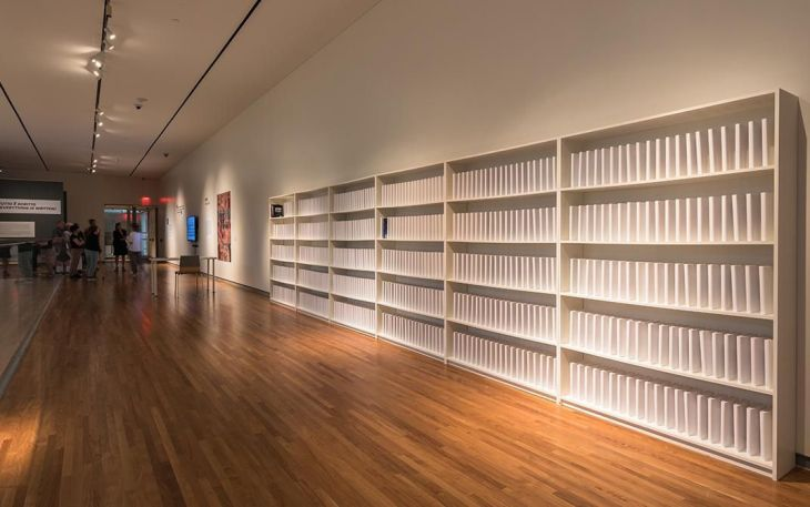 How an Artist at the Aga Khan Museum Is Rebuilding Baghdad Library Destroyed During the Iraq War   Smithsonian