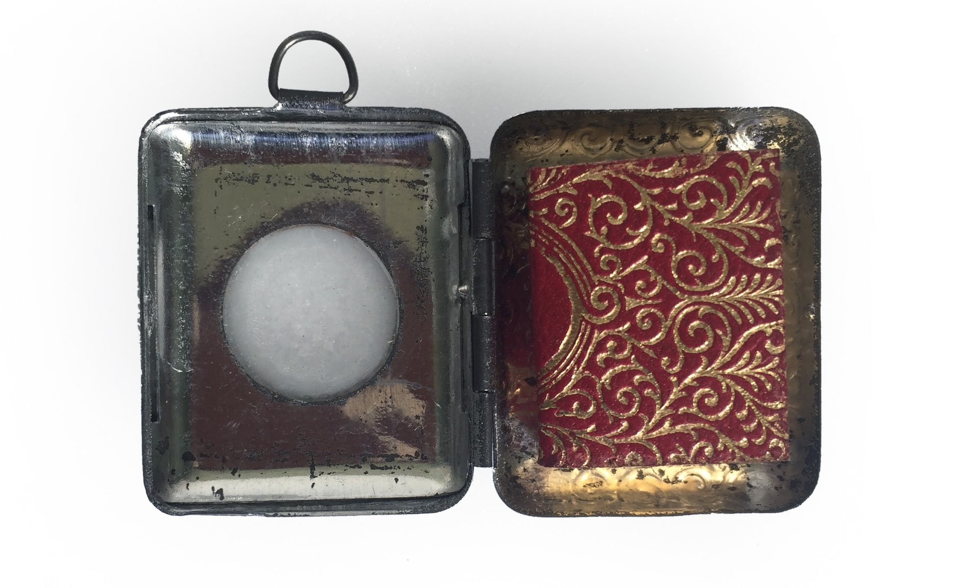 Emery Walker's Islamic collection in London: A miniature Qur'an, the size of a postage stamp