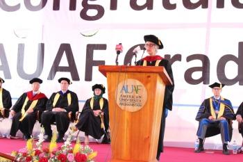 AKDN Diplomatic Representative in Afghanistan Honored by American University of Afghanistan