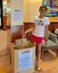 Prior Lake girl collects 1,312 pounds of food in drive