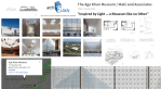 "The Aga Khan Museum, inspired by ""Light"" explain Maki and Associates 