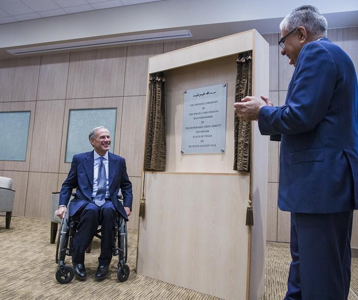Governor of Texas joins Ismaili Muslims in opening new Austin Jamatkhana