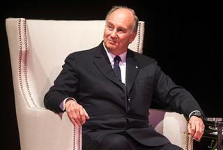 His Highness the Aga Khan. Photo Mark Blinch/Reuters