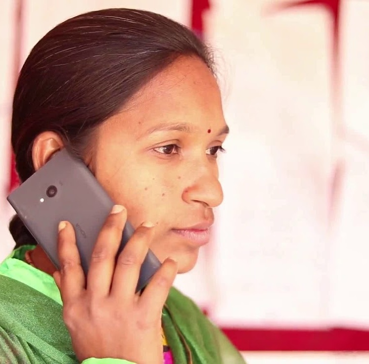 Mobile Voice message system - Aga Khan Rural Support Programme India (In Gujarati)