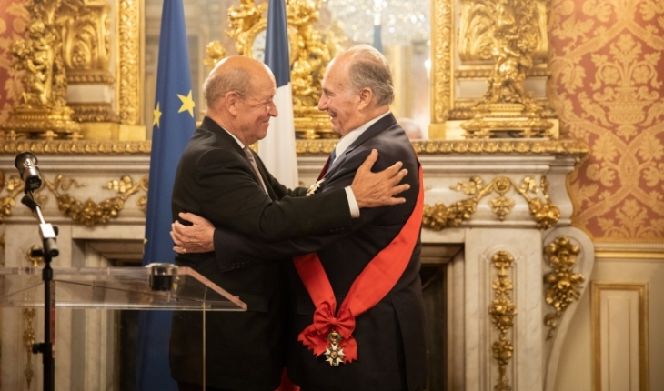 France bestow Highest National Medal of Honour to His Highness Prince Karim Aga Khan IV for the cause of peace, pluralism and development