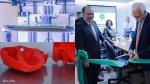 Aga Khan University Pakistan's President Firoz Rasul inaugurates the University's first 3D Printing Lab