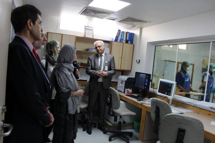 A recent tour at FMIC Kabul