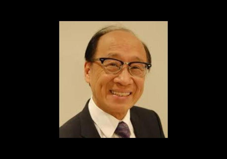 Dr. Wilfred Chung. making a difference in the world
