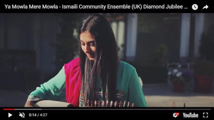 Ya Mowla Mere Mowla - Ismaili Community Ensemble (UK) Diamond Jubilee Tribute