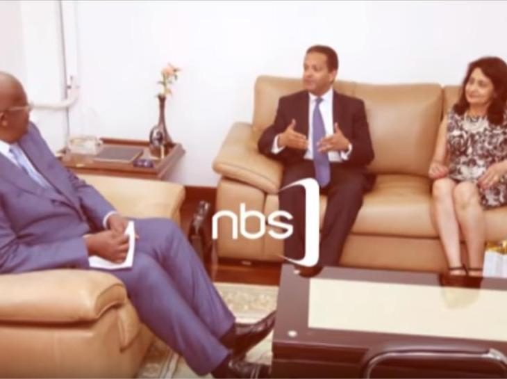 NBS TV Uganda: Face Off with Amin Mawji Obe, Diplomat Representing Aga Khan Development Network