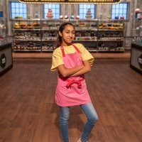 Jiwani steps into the Food Network kitchen on Kids Baking Championship