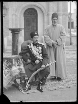 Portrait of Prince Abu'l Fath Mirza Salar al-Dawla (1881-1961) Taken by Antonin Sevruguin Iran, 1900-1930: Image credit: Freer Gallery of Art and Arthur M. Sackler Gallery Archives, Smithsonian Institution; Gift of A. Katherine Dennis Smith, 1973–1985, FSA_A.4_2.12.GN.36.11