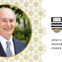 Event: The University of British Columbia (UBC) and Simon Fraser University (SFU) award honorary degrees to His Highness the Aga Khan